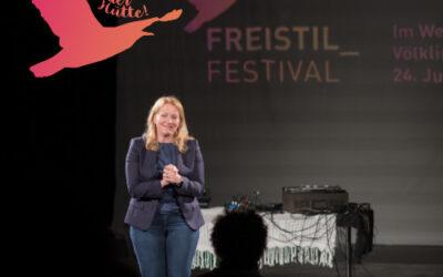 FREISTIL_FESTIVAL: ein wunderbarer Eröffnungsabend!